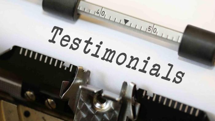 Are you actively collecting testimonials and making them work for you?