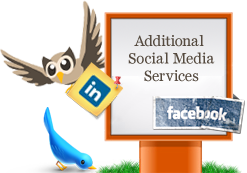 Social media support services