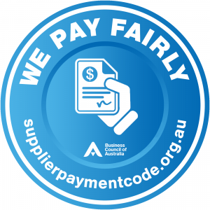 Supplier Payment Code Logo